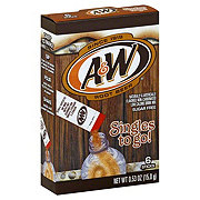 A&W Root Beer Sugar Free Singles To Go