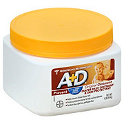A+D Prevent Original Diaper Rash Ointment and Skin Protectant