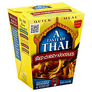 A Taste of Thai Quick Meal Red Curry Noodles