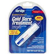 Abridge Maximum Strength Cold Sore Treatment Pump N' Go Portable Pump