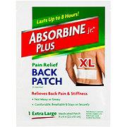Absorbine Jr. Plus Pain Relief Back Patch XL
