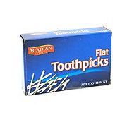Acadian Trading Flat Toothpicks