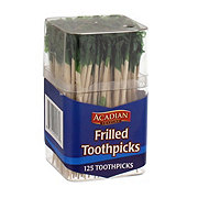 Acadian Trading Frilled Toothpicks Assorted Colors