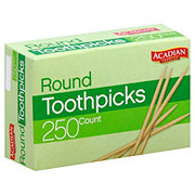 Acadian Trading Round Toothpicks