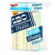 Acadian Trading Striped Straight Straws