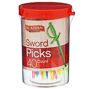 Acadian Trading Sword Picks