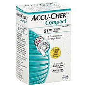 Accu-Chek Compact Test Strips (3 Drums)