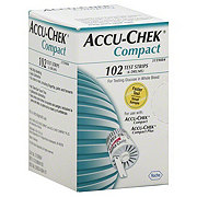 Accu-Chek Compact Test Strips (6 Drums)