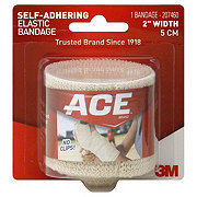 Ace 2 Inch Width Self-Adhering Elastic Bandage