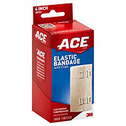 Ace 4 Inch Elastic Bandage With Clips