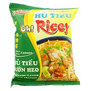 Acecook Oh Ricey Rice Noodle With Spareribs Flavor