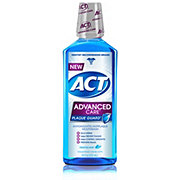 ACT Advanced Care Plaque Guard Mouthwash, Frosted Mint