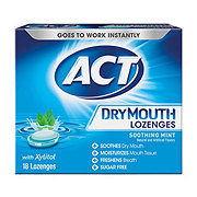 ACT Dry Mouth Lozenges Mint