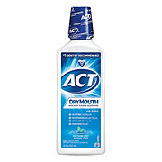 ACT Dry Mouth Total Care Soothing Mint Anticavity Fluoride Mouthwash