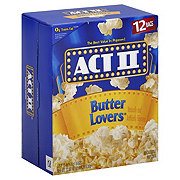 Act II Butter Lover Popcorn