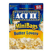 Act II Butter Lovers Microwave Popcorn Mini Bags