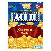 ACT II Extreme Butter Popcorn