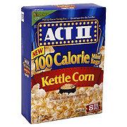 Act II Kettle Corn Microwave Popcorn 100 Calorie Mini Bags