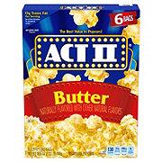 ACT II Microwaveable Butter Popcorn