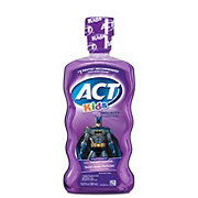 ACT Kids Anticavity Fluoride Rinse Batman, Fruit Punch