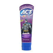 ACT Kids Anticavity Fluoride Toothpaste Batman, Fruit Punch