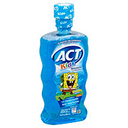ACT Kids SpongeBob SquarePants Anticavity Fluoride Rinse, Ocean Berry