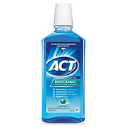 ACT Restoring Cool Mint Anticavity Fluoride Mouthwash