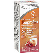 Actavis Children's Ibuprofen 100 mg/5ml Berry Flavor Liquid