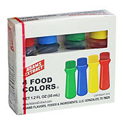 Adams 4 Food Colors Extract