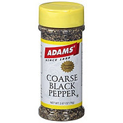 Adams Coarse Black Pepper