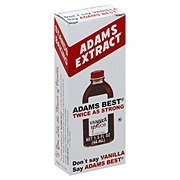 Adams Extract Best Twice as Strong Vanilla