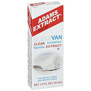 Adams Extract Clear Imitation Vanilla