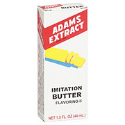 Adams Extract Imitation Butter Flavoring