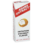 Adams Extract Imitation Coconut Flavor