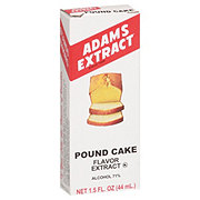 Adams Extract Pound Cake Flavor