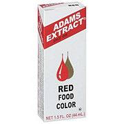 Adams Extract Red Food Color