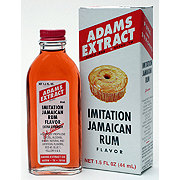 Adams Imitation Jamaican Rum Flavor Extract