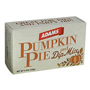 Adams Pumpkin Pie Dip Mix