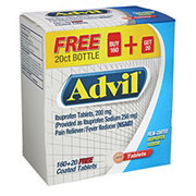 Advil 200MG Coated Tablets