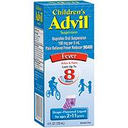 Advil Children's Grape Suspension Ibuprofen Liquid Pain Medicine