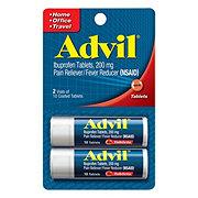 Advil Ibuprofen 200 mg Coated Tablets Pocket Pack Travel Size