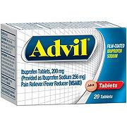 Advil Ibuprofen Sodium 200 mg Coated Tablets