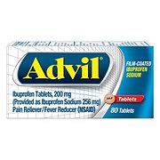 Advil Ibuprofen Sodium 200 mg Film-Coated Tablets