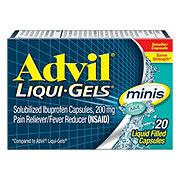 Advil Liqui-Gels Minis Pain Relief Ibuprofen Liquid Filled Capsules