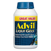 Advil Liqui-Gels Solubilized Ibuprofen Capsules, 200 mg