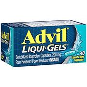 Advil Liqui-Gels Temporary Pain Relief Ibuprofen Liquid Filled Capsules