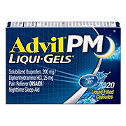 Advil PM Liqui-Gels Capsules