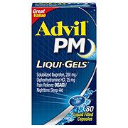 Advil PM Liqui-Gels Pain Reliever & Nighttime Sleep Aid Liquid Filled Capsules