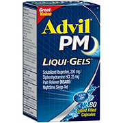 Advil PM Liquid Gels