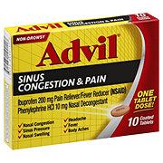 Advil Sinus Congestion & Pain, Coated Tablets